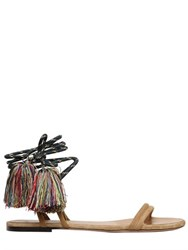 Isabel Marant 10Mm Astrid Wrap Around Suede Sandals