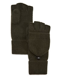 Bloomingdale's The Men's Store At Pop Top Cashmere Gloves Olive