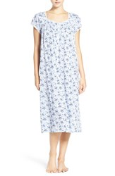 Eileen West Women's Print Cotton And Modal Nightgown