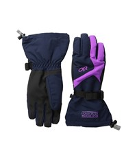 Outdoor Research Adrenaline Gloves Night Ultraviolet Extreme Cold Weather Gloves Black