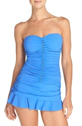 Gottex Women's Profile By Ruched Bandeau Swimdress