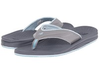 New Balance Purealign Thong Grey Blue Women's Shoes Gray