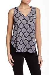 Lush Sleeveless Blouse Multi