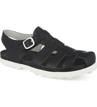 Camper Scoop Fisherman Sandals Black