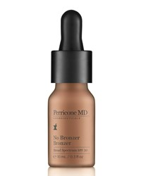 N.V. Perricone No Bronzer' Bronzer Spf 30 10 Ml Perricone Md