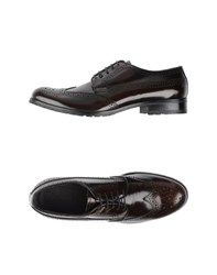 Armani Collezioni Footwear Lace Up Shoes Men