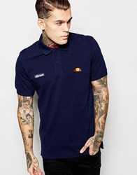 Ellesse Polo Shirt Navy