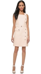 Jill Stuart India Snap Mini Dress Canvas