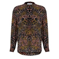 Samsoe And Samsoe Women's Waddi Shirt Feather Multi