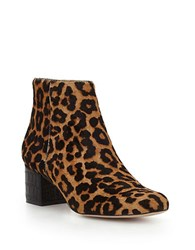 Sam Edelman Edith Brahman Hair Booties Leopard