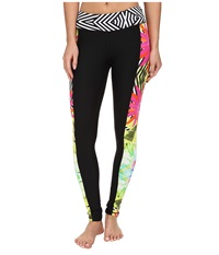 Trina Turk Tropicana Full Length Legging Multi Women's Workout