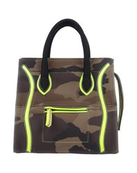 Via Mail Bag Bags Handbags Women Military Green