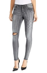 William Rast Women's The Perfect Embellished Skinny Jeans