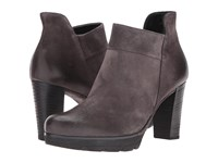 Paul Green Alissa Iron Suede Women's Zip Boots Brown