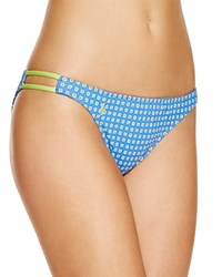 Polo Ralph Lauren Foulard Dot Print Hipster Bikini Bottom Blue