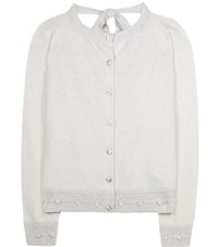 Barrie Cashmere Cardigan Grey