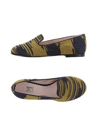 M Missoni Footwear Moccasins Women Dark Blue