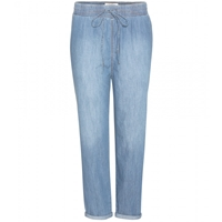 Current Elliott Relaxed Fit Jeans With Drawstring Waist Cascade