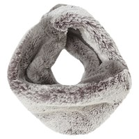 Jacques Vert Faux Fur Infinity Scarf Grey