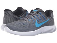 Nike Lunarglide 8 Dark Grey Blue Glow Black Blue Gray Men's Running Shoes