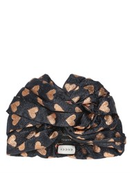 Gucci Hearts Lurex Headband