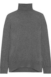 A.P.C. Atelier De Production Et De Creation Judith Cashmere Turtleneck Sweater Gray