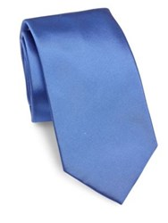 Ralph Lauren Solid Silk Tie Blue