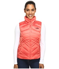 The North Face Aconcagua Vest Spiced Coral Women's Vest Orange