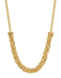 Lord And Taylor Gold Rush 14K Pdc Yellow Gold Braided Necklace