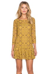 Free People Walking To The Sun Dress Yellow