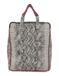 Maurizio Pecoraro Handbags Light Grey