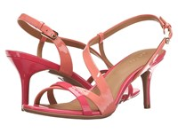 Calvin Klein Lorren Salmon Rose Patent Women's Dress Sandals Pink