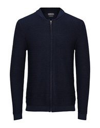 Jack And Jones Jorsky Knit Cardigan Navy