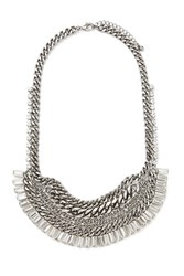 Forever 21 Curb Chain Statement Necklace