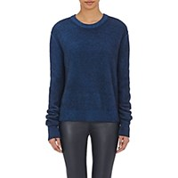 The Row Women's Rienda Sweater Blue Navy Blue Navy