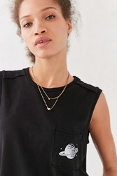 Truly Madly Deeply Planetary Muscle Tee Black
