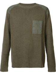 Wesc 'Aero' Jumper Green
