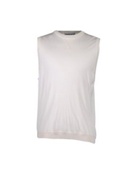 Couture Du Cuir Sweater Vests Ivory