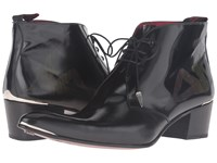Jeffery West Trucker Chukka Black Men's Shoes