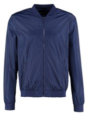 Your Turn Bomber Jacket Dark Blue
