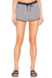 Seafolly Buster Short Black And White