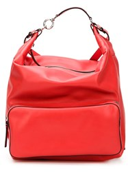 Marni Zip Fastening Backpack Red