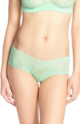 Cosabella Women's 'Trenta' Lace Briefs Green Prairie