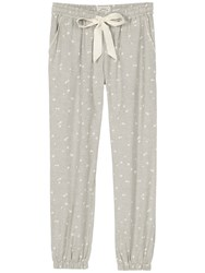 Fat Face Woven Cuffed Lounge Trousers Grey