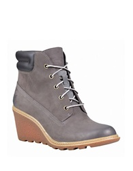 Timberland Amston Nubuck Wedge Boots Grey