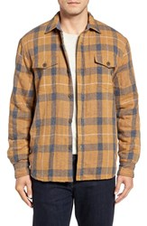 True Grit Men's Summit Baja Plaid Flannel Shirt Jacket
