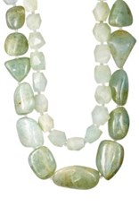 Resee Women's 1980S Philippe Ferrandis Aventurine Quartz Double Strand Necklace No Color