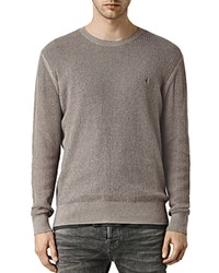 Allsaints Stein Crewneck Sweater Military Green