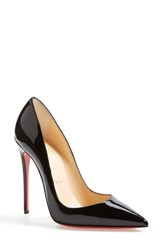 Women's Christian Louboutin 'So Kate' Pointy Toe Pump Black