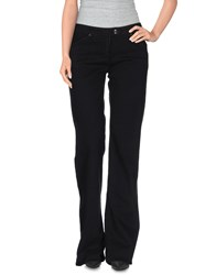 Armani Jeans Denim Denim Trousers Women Black